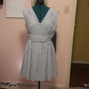 Trashy Diva seersucker dress